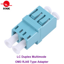 LC Duplex RJ45 Type Multimode Om3 Fiber Optic Adapter